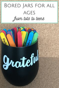At this time of year, my bored jar posts suddenly get very popular so I thought I'd share this roundup. Bored Jars for everyone - from Tots to Teens! Bored Jar, Easy Homemade Gifts, Coffee Jars, Summer Activities For Kids, Fun Activities, Potty Training Tips, Frugal Family, Boredom Busters, Crazy Life
