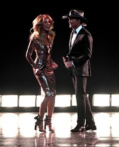 The king + queen of country stepped into the spotlight again to perform the first single from their upcoming joint album.
