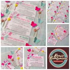 Butterfly Invitations.