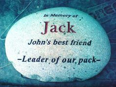 Jack....you will be remembered