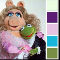 Muppet color scheme