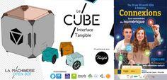"""J-7 Avec le """"CUBE"""" une approche tangible de la pédagogie numérique #Connexions #Amiens"""