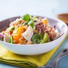 Recette Salade fraicheur au chèvre et noisettes (facile, rapide)