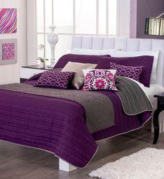 Vianney catálogo 2014 para tu hogar colcha morada