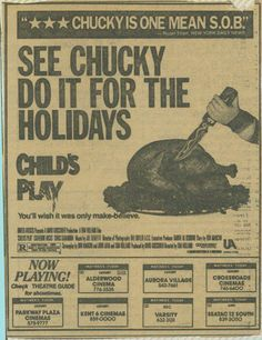 Scary Chucky, Horror Icons, Horror Movies, A Good Man, Kids Playing, Tiffany, Guy, Cinema, Child