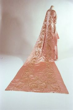 1920's court dress