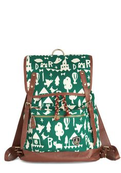 Fantastical Weekend Backpack, #ModCloth