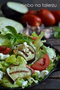 sałatka zserem feta Cobb Salad, Tacos, Feta, Mexican, Ethnic Recipes, Blog, Blogging
