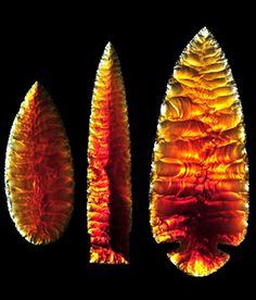 Oregon Fire Opal blades