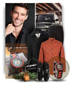 """A special Gift for Him - DOVER series Ebony & Rosewood Watch by Jord"" by christiana40 ❤ liked on Polyvore featuring Diesel, Raf Simons, Blood Brother, Fred Perry and adidas"