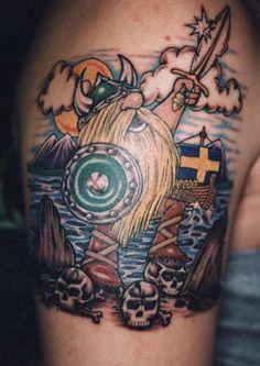 viking warrior tattoo design - Design of TattoosDesign of Tattoos