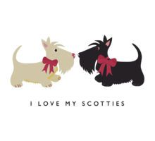 I Love My Scotties by BonniePortraits