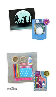 Design the nightlight of your dreams with this easy-to-use kit.