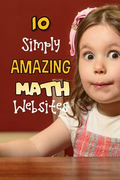 10 Simply Amazing Math Websites There are times when only a great math webiste will do! Here are ten of the best of the best to teach, reinforce and help kids absolutely love math! Math For Kids, Fun Math, Math Games, Math Activities, Math Math, Math Classroom, Kindergarten Math, Google Classroom, Future Classroom