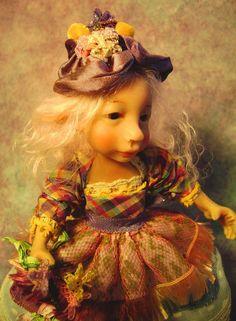 ~AVRIL~ A SPRING FLOWER WOODLAND PIXIE BY POPPENMOON #wwwpoppenmooncom