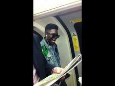 I'm siiiinging on the tube. Just siiiinging on the tube.