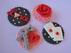 Sweet Valentine Toppers