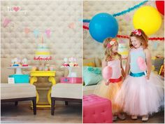 Cotton Candy Party styled by The TomKat Studio, Photos by Laura Winslow