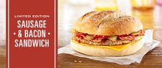 A classic taste, enjoy it with a meal or on its own as a refreshing drink. Mcdonalds Uk, Mcdonalds Breakfast, Sausage And Bacon Sandwich, Refreshing Drinks, Cold Drinks, Sandwiches, Food And Drink, Banner, Menu