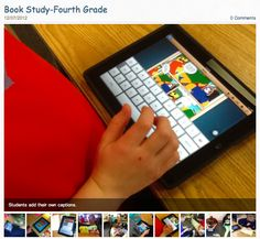 Amazing book study on Frindle with 4th grade students using Popplet and Comic Life to create graphic novels: http://bpemhusain.weebly.com/1/post/2012/12/book-study-fourth-grade.html