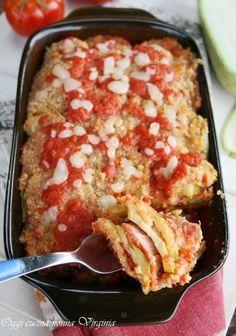 parmigiana di zucchine,Oggi cucina nonna Virginia