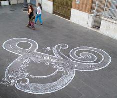 Chalk #Ampersand by Tommaso Guerra