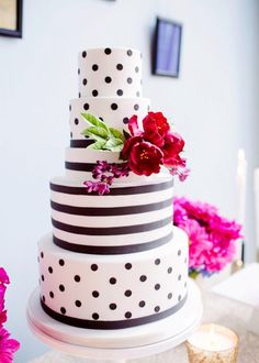 Kate Spade Inspired Wedding Cake Ideas