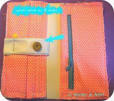 los tutoriales de artbril: Tutorial DIY monedero - Cartera Ideas Para, Diy, Wallet, Fabric, Jeans, Scrappy Quilts, Wallets, Sewing Tutorials, Sewing Projects