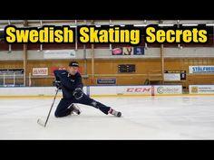 Swedish Skating Secrets with StarZone Sports - Hockey skating fundamentals Hockey Workouts, Hockey Drills, Ccm Hockey, Kings Hockey, Flyers Hockey, Hockey Coach, Rangers Hockey, Hockey Goalie, Hockey Mom