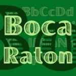 Boca Raton™ Schriftfamilie | Linotype.com