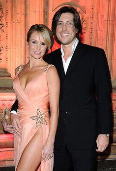 Amanda Holden and husband Chris Hughes...