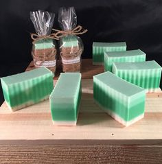 Honeydew Melon goats milk soap Free shipping by TheSimpleSoapsCo