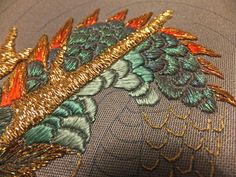embroidery for ducks Dragon Scale, The Hobbit, Costumes, Hand Embroidery, Crafty, Sewing, Google Search, Shirt, Fun