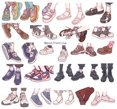 shoes drawing - shoes ` shoes sneakers ` shoes for women ` shoes heels ` shoes aesthetic ` shoes sneakers jordans ` shoes drawing ` shoes sneakers nike Drawing Reference Poses, Drawing Poses, Drawing Tips, Anime Drawing Tutorials, Art Tutorials, 3d Artwork, Fantasy Artwork, Drawing Anime Clothes, Drawing Of Shoes