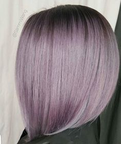 Smoky Lilac + Shadow ... by @sammiiwang #behindthechair #shadowroot #purplehair