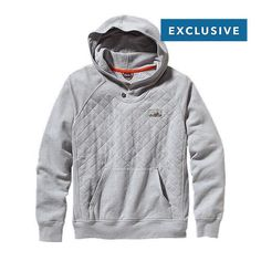 M's Reclaimed Cotton Hoody by @patagonia
