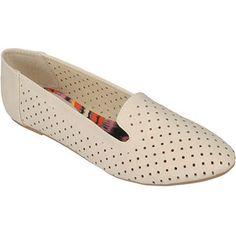 Brinley Co. Womens Round Toe Slip-on Flat