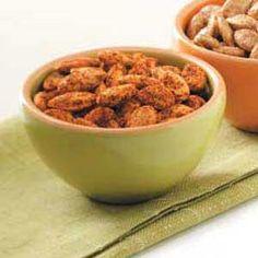 Fiery Pumpkin Seeds Recipe from Taste of Home