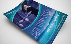 Better World Flyer - PSD Template by martinemes.deviantart.com on @DeviantArt