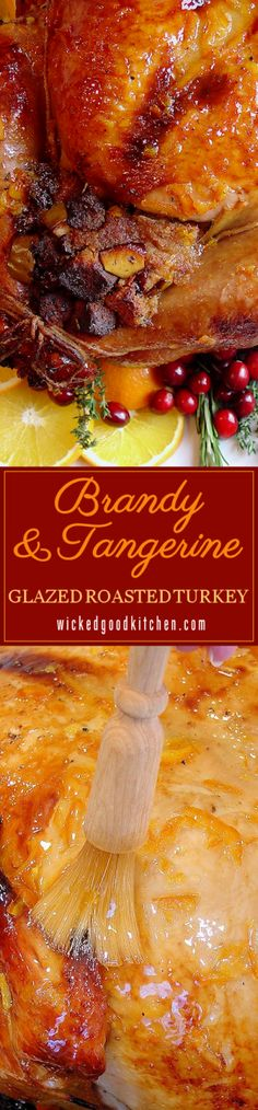A New Classic ~ Our tried and true recipe creates the most flavorful, tender and juicy turkey with a sublime citrus glaze. Complete with tips, customizable options, gluten-free options and detailed photos. The perfect turkey for #Thanksgiving and #Christmas #Holidays! | holiday recipe