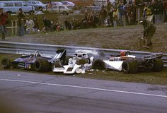 Keegan Patrese Brambilla Crash Canadian Grand Prix F1 Mosport 1977 by ericok, via Flickr