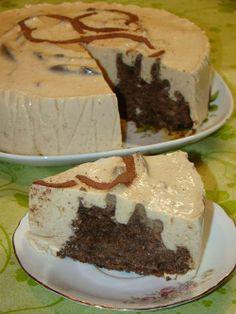 Cristina's world: Tort Dukan cu iaurt si ness Dukan Diet, Raw Vegan, I Foods, Deserts, Food And Drink, Pudding, Sweets, Cookies, Caramel