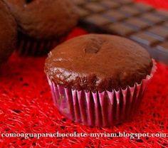 MUFFINS DE CHOCOLATE.