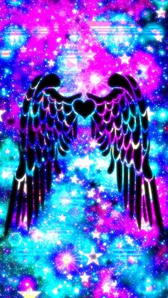 Wings Wallpaper, Cute Galaxy Wallpaper, Cute Panda Wallpaper, Angel Wallpaper, Neon Wallpaper, Rainbow Wallpaper, Glitter Wallpaper, Music Wallpaper, Iphone Background Wallpaper