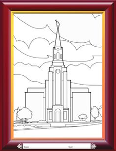 Lds Temple Coloring Page Lovely Coloring Pages Lds Lesson Ideas Lds Primary, Primary Lessons, Primary 2014, Bat Coloring Pages, Printable Coloring, Captain America Coloring Pages, Free Thanksgiving Coloring Pages, Solomons Temple, Kids Church