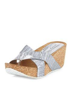 1a9b093210b53 Sbicca Kareina Women s Platform Wedge Slide Woven Sandals Handmade ...