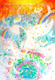 ★**☆Angelic Miracle Energy ~*Angeland*~ by Ere*Maria & many Angels' love★**☆ Angel S, Sprinkles, Candy, Fine Art, Sweets, Visual Arts, Candy Bars, Chocolates