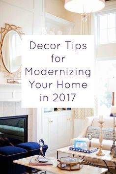 Decor Tips for Modernizing Your Home