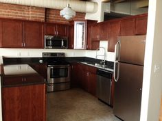 Stainless Steel appliances, Upgraded cabinetry and Granite Counter Tops.