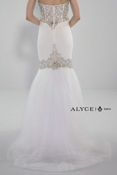 Alyce Paris | Prom Dress Style #6337 Back View